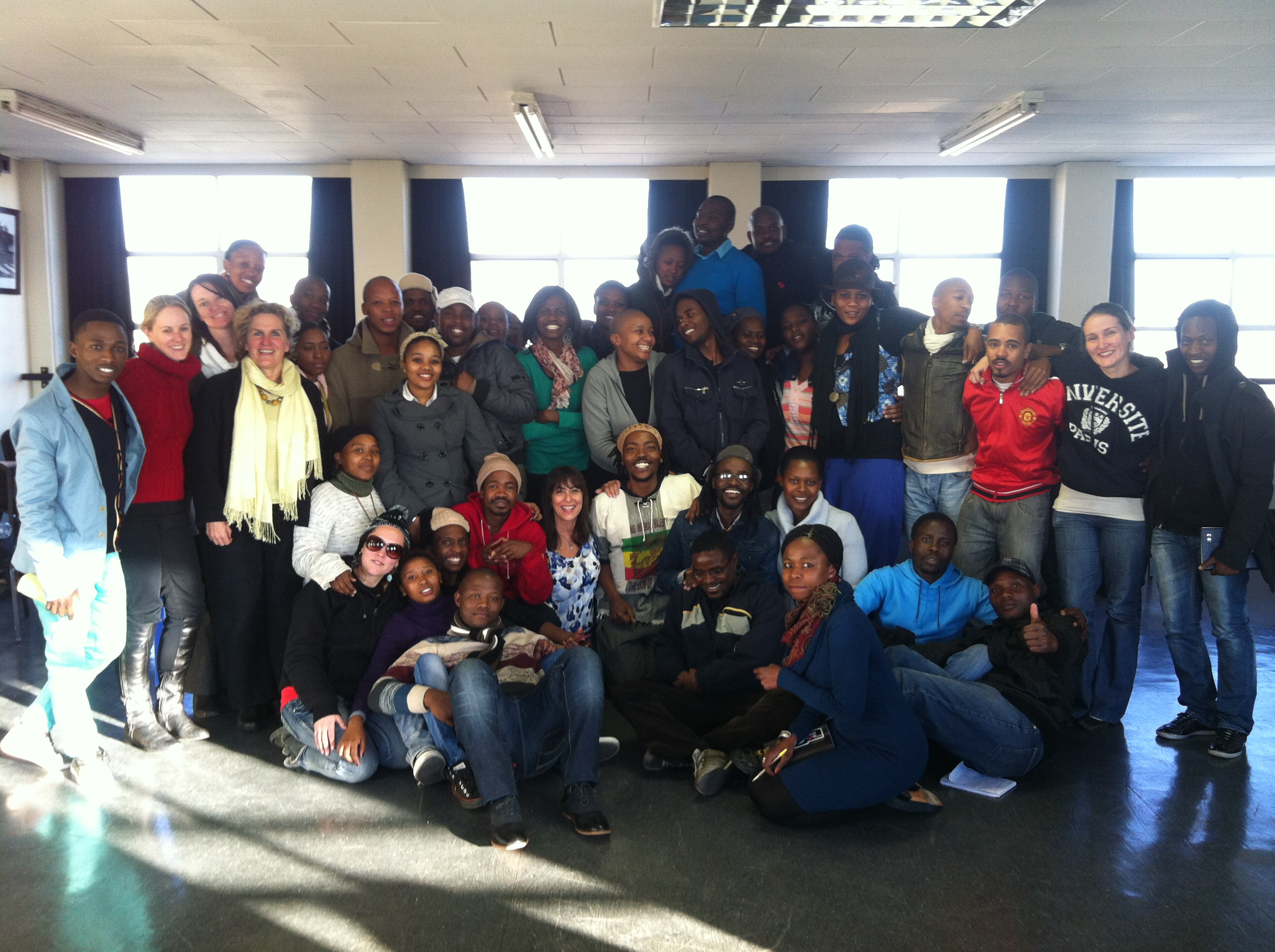 Cathy Salit Leads Performance Workshop In Johannesburg South Africa